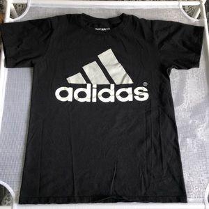 Adidas The Go To Tee 3 Stripes Logo